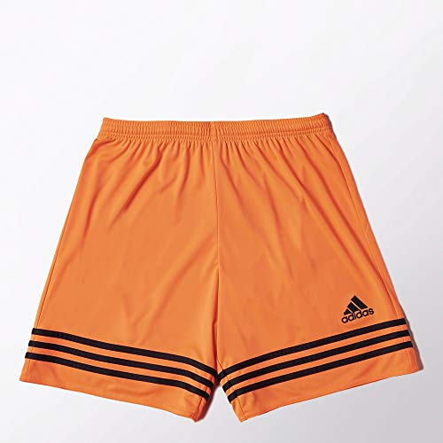 adidas Entrada 14 Sho, Pantaloncino Uomo, Arancione/Nero, XL