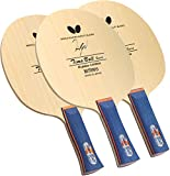 Butterfly Timo Boll Spirit Table Tennis Blade - Arylate-Carbon Fiber Blade - Professional Butterfly Table Tennis Blade - Available in AN, FL, and ST handle styles - Made in Japan