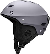 OutdoorMaster Ski Helmet - Snowboard Helmet for Men, Women & Youth (Gray,L)