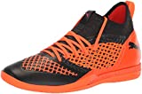 PUMA Herren Future 2.3 Netfit It, Black-Shocking Orange, 40 EU