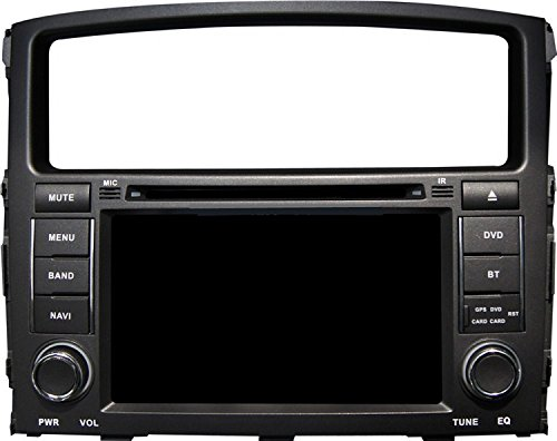 Gowe Android 17,8 cm Auto-DVD-speler voor MITSUBISHI PAJERO V93 V97 -/Montero 2006-2011 met GPS/SWC/WiFi/Radio/iPod/Canbus/Spiegel Link/OBD2