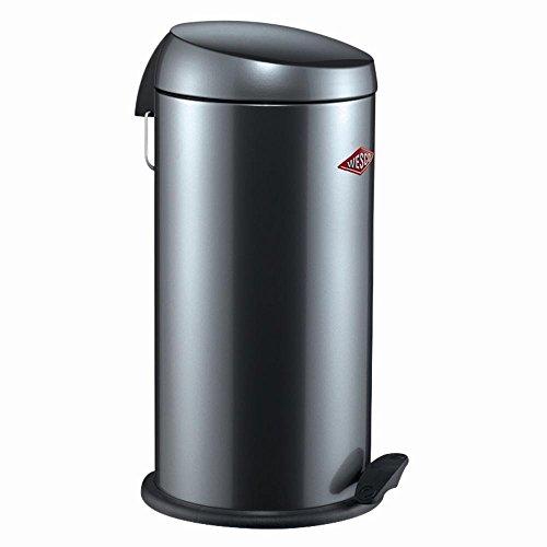 CAPBOY MAXI 64 cm hoch Abfallsammler Mülleimer 22 Liter Tretmechanismus WESCO , Farbe:graphit