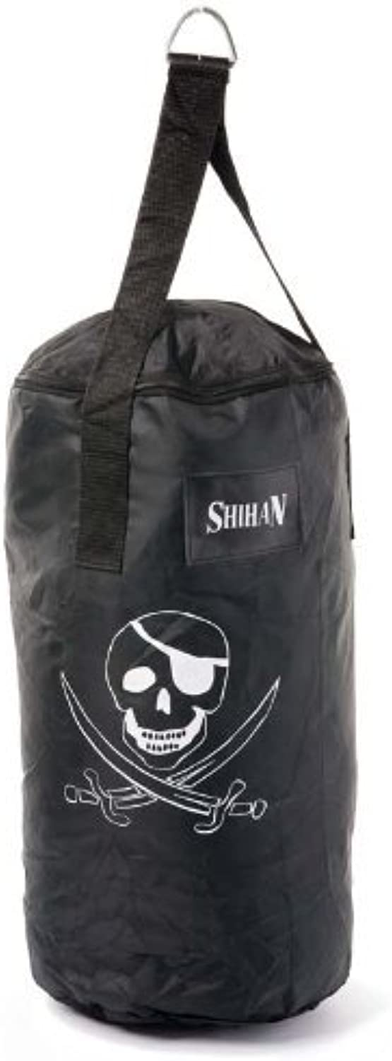 Punch Bag 2ft 'Pirate' Un-Filled, Boxing Bag, Kickboxing Training Punch Bag Home Use Training Punch Boxing Bag