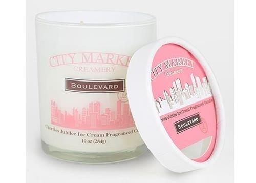 Boulevard 10 oz. Jar Candle City Market Cherries Jubilee