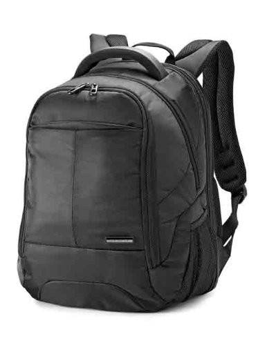 Samsonite Classic Backpack-Checkpoint Friendly, Black, One Size