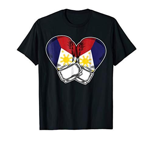 Philippines Flag Boxing Boxer T-Shirt Pinoy Filipino Flag