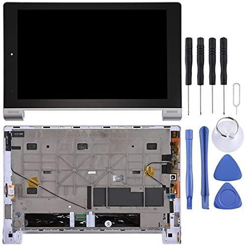 YEYOUCAI Pantalla táctil LCD para Lenovo Montaje Completo de Pantalla LCD y digitalizador con Marco para Tableta Lenovo Yoga 10 / B8000