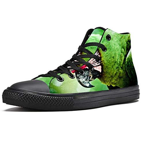 LORVIES - Zapatillas deportivas de tela para hombre, (multicolor), 41 EU