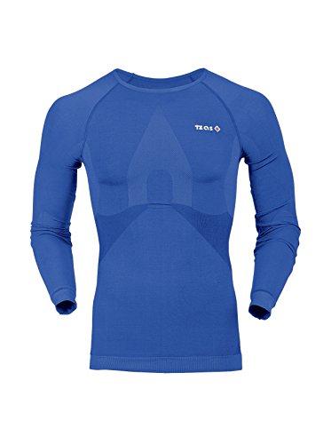 Izas Finland Camiseta térmica, Hombre, Royal, XL
