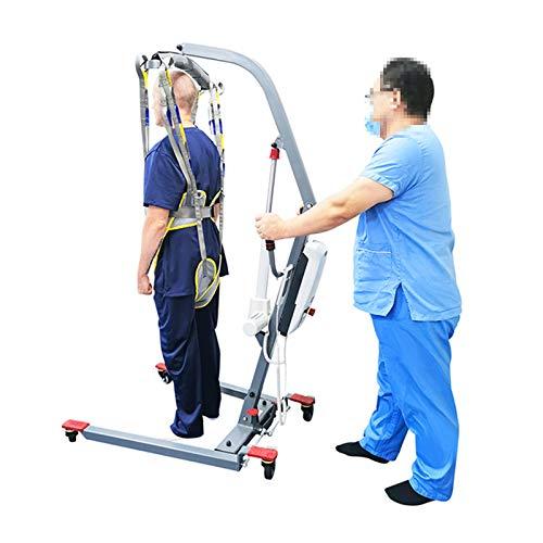 41pq bj14bL - WLKQ Paciente Honda Levantador Grúa Paciente Cuerpo Completo Elevación Paciente Cabestrillo Malla De Seguridad Médica Eslinga De Elevación para Enfermería, Ancianos, Discapacitados