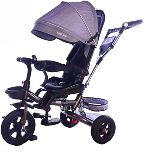 【Nouvelle mise à jour】 Caballo de oscilación Trikes triciclo de niños al aire libre de múltiples funciones de la bici del bebé de 1-6 cochecitos Niños Años de Edad con toldo productos del bebé Pousset