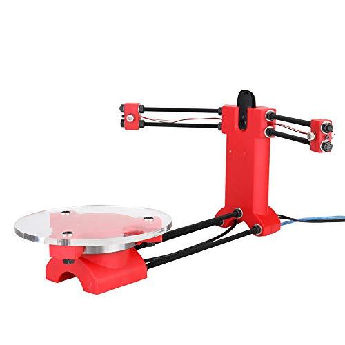 Scanner, Baugger- DIY 3D-Open-Source-Scanner Hochpräzises Desktop-Basis-Scanister-Kit mit Multifunktionsstecker