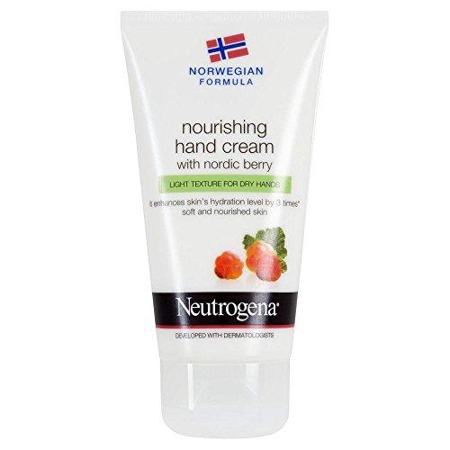 Neutrogena Formule Norvégienne Crème Nutritive main avec Nordic Berry (75ml) - Paquet de 6