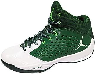 Jordan Rising High Mens Basketball Shoes (13 D(M) US, Green/White)