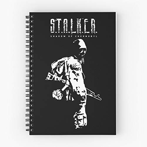R Game K Sky Of Shadow L S E Pc Clear Computer Stalker T Chernobyl A Cute School Five Star Spiral Notebook With Durable Print