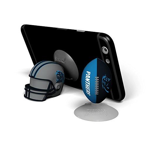 NFL Sports Suckerz Carolina Panthers Football & Helmet Phone Stand