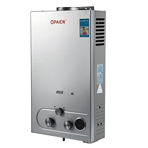potente comercial calentador gas presion pequeña