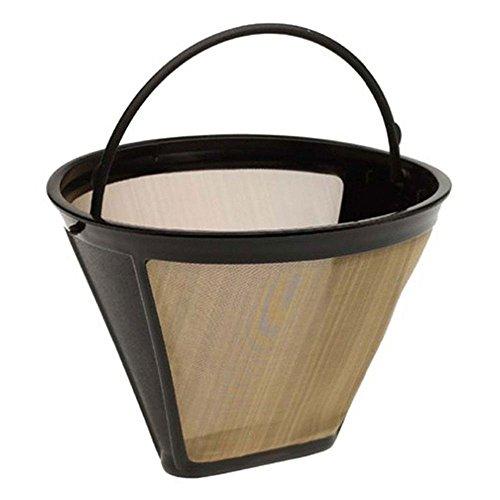 IETONE 4 Cone Shape Permanent Coffee Filter for Ninja Coffee Bar Brewer Replacment Cuisinart Coffee Filter