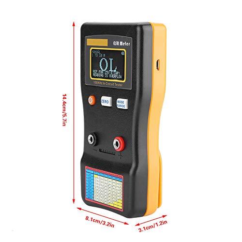 Medidor MESR-100, resistencia de medidor de capacitancia de rango automático dentro del probador de circuito del capacitor para la industria para reparar TV