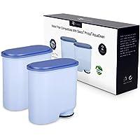 Filtro de Agua para Cafeteras Philips y Saeco, Homegoo Prevención de Cal Filtro AquaClean CA6903 Compatible con Cafeteras Automáticas Philips y Saeco AquaClean (2 Unidades)