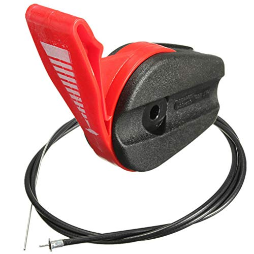 LYCOS3 Interruptor de control de cable del acelerador para cortacésped eléctrico de...