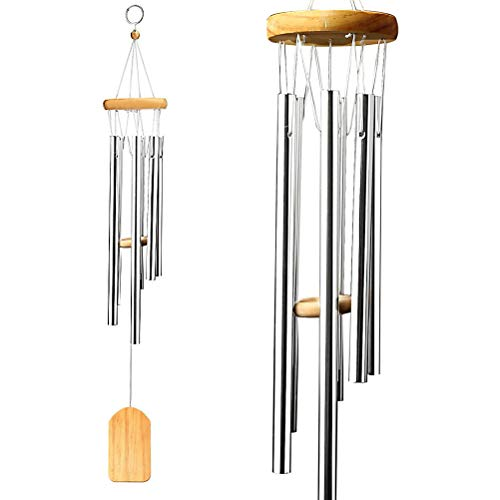 nuosen Wind Chime, Garden Wind Chime Woodstock Wind Chimes Home Decor Windchimes for Indoor and Outdoor