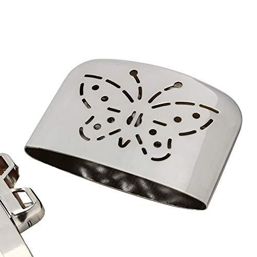 Weikeya Calentador de Calentador Limpio, 120-160 Fahrenheit Necesita Alambre Neutro con Metal (Plata)