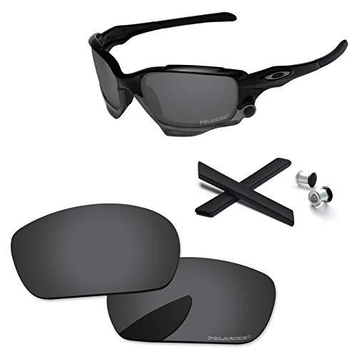 PapaViva Lentes de repuesto y kits de goma para Oakley Jawbone/Racing Jacket