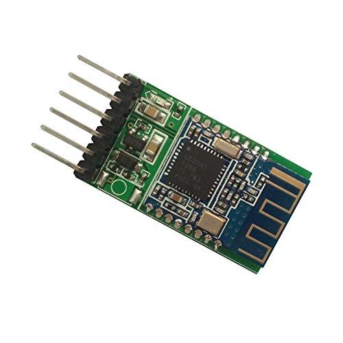 DSD TECH HM-11 Bluetooth 4.0 BLE-Modul mit 6 PIN-Karte Kompatibel mit iOS-Geräten für Arduino