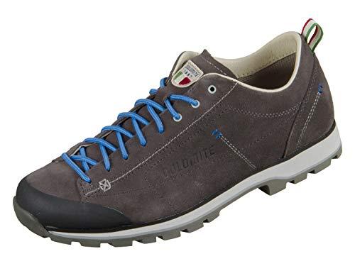 Dolomite Unisex Zapato Cinquantaquattro Low Sneaker, Anthrazit/Blau, 41 1/3 EU