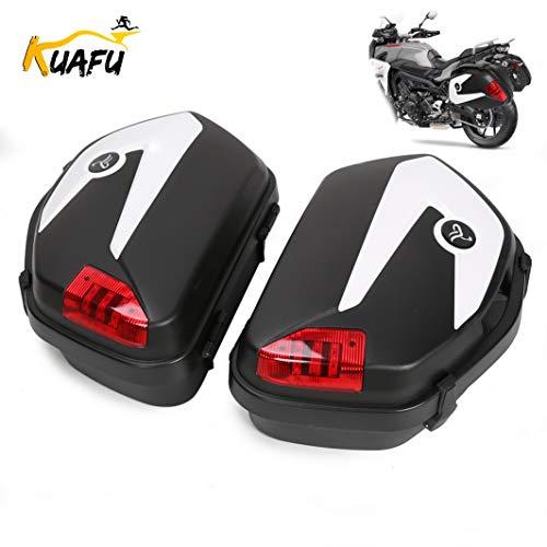 Hard Saddle Bag Trunk With Lights Locks Fit Can-am Spyder ROADSTER RS ST Honda Street