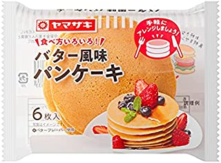 ヤマザキ バター風味パンケーキ(6枚入) ×10個セット 山崎パン横浜工場製造品