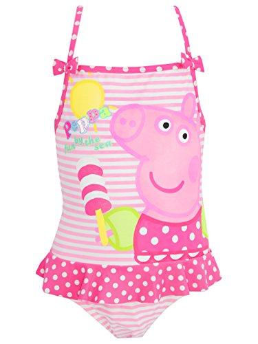Peppa Pig - Costume da Bagno Ragazza 6-7 Anni
