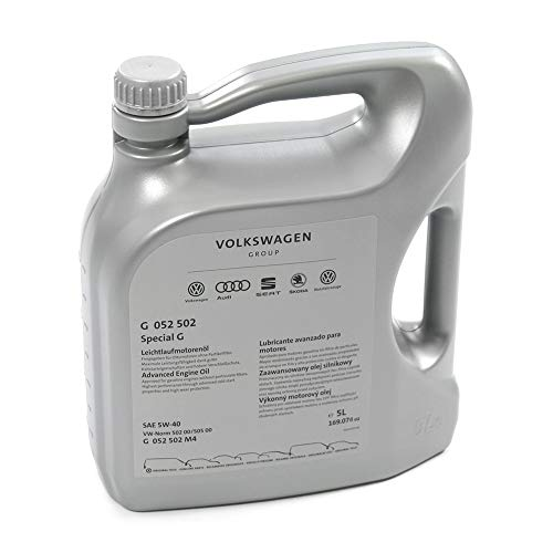 Aceite de motor 5W40, 5 l, norma de aceite 50200 50500, gasolina'Special G' G052502M4