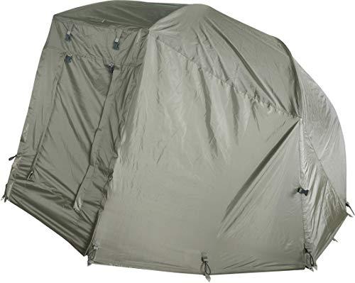MK-Angelsport Winterskin für MK Brolly Alu Frame 60 Schirmzelt/Angelschirm (kein Zelt nur Überwurf), Carp Dome, Overwrap for Bivvy/Angelzelt