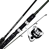 Okuma Fishing Tackle- VSE665M-30 Voyager Express Travel Kit Spinning Combo, Forest Green