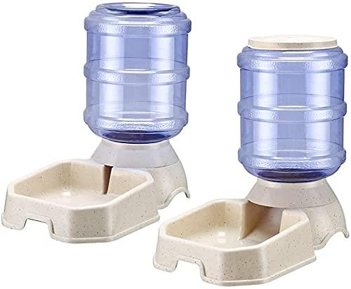 Electomania Futterspender und Wasserspender für Haustiere - Set zur Fütterung von Hund und Katze -3.8 L Futterautomat und Wasserspender im Set