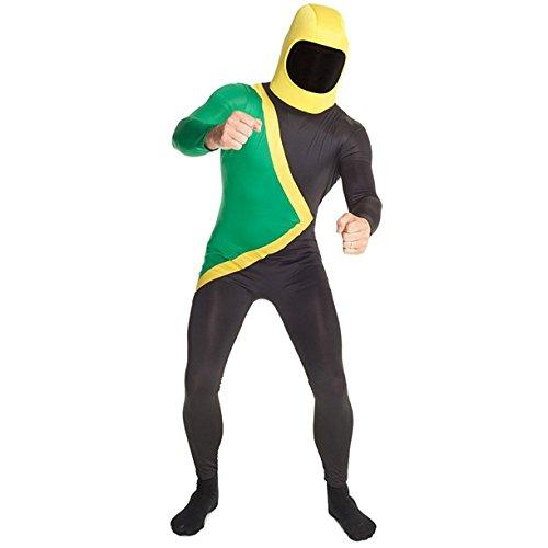 Jamaican Morphsuit costume