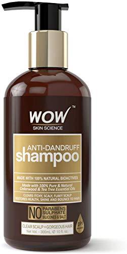 Glamorous Hub WOW Champú anticaspa sin parabenos y sulfatos 300 ml (el empaque puede variar)