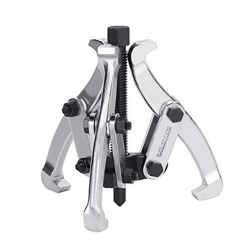 DURATECH 3-Inch 3-Jaw Gear Puller, Removal Tool for Gears, Pulleys, Bearings and Flywheels