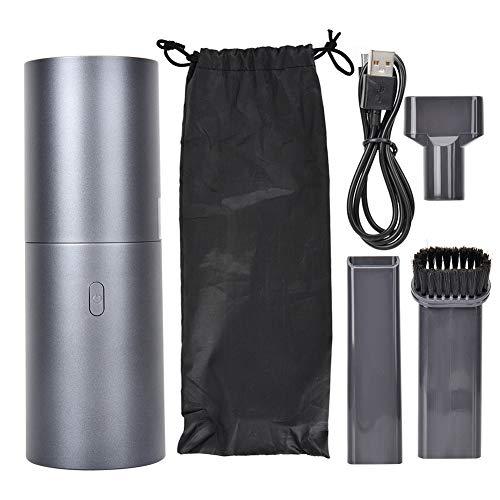 Mini Black oplaadbare draagbare stofzuiger, handstofzuiger, veel verschillende oplaadmethoden, snel opladen geschikt voor stofverwijdering op kantoor, thuis, in de auto, toetsenbord en computer