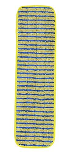 Rubbermaid Commercial Products 1791794 Frange de Nettoyage en Microfibres pour Surfaces Rugueuses 44,45 cm (Pack de 6)