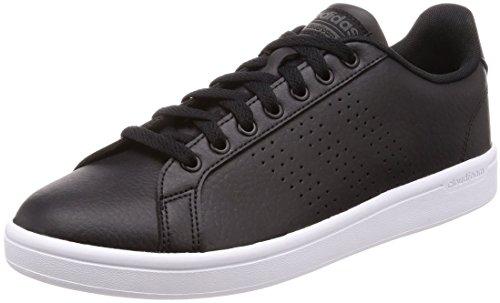 adidas Cloudfoam Advantage, Sneaker Uomo, Nero (Core Black/DGH Solid Grey), 41 1/3 EU