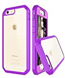 iPhone 6S Case, iPhone 6 Case, Style4U Slim Shock Absorbent Scratch Resistant Full Body Protection Hybrid Armor Defender Case for Apple iPhone 6S / 6 with 1 Stylus [Purple]