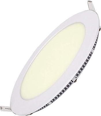 Henda Panel LED 20W Super Slim redondo Downlight Led Luz Neutra 4500K