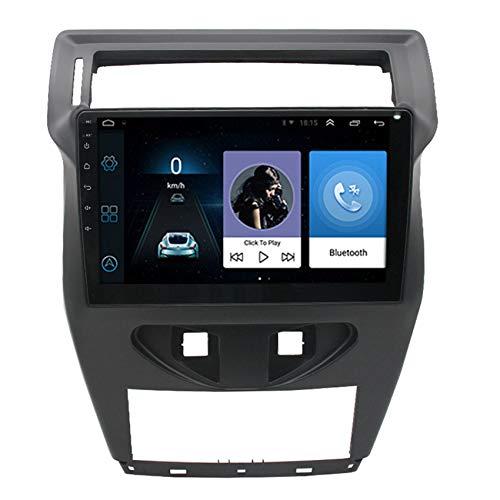 ADMLZQQ Android 9.1 Coche estéreo para Citroen C4 C-Quatre 2012-2020 navegación GPS con Bluetooth/GPS/FM/USB Apoyo Mandos Volante, Mirrorlink + Cámara Respaldo,4 Cores WiFi:2+32g
