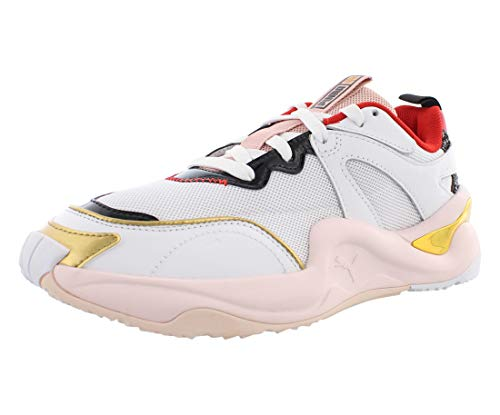 PUMA Womens Rise X Charlotte Olympia Lace Upsneakers Sneakers Shoes Casual - White - Size 10 B