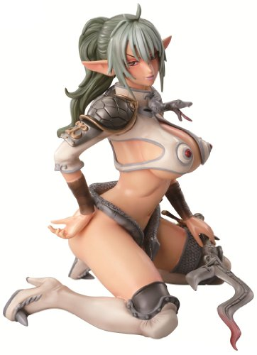 Queens Blade Echidna 1/4.5 Scale Polyresin figurine A+ [Japan]