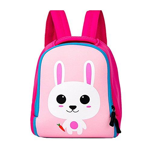 Vertvie kinderrugzak kleine kinderen dier, cartoon tas, babyrugzak, kleuterschool, schooltas voor baby, meisjes, jongens, leeftijd 3-6 jaar, 31 x 23 x 12 cm