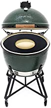 Kamado/Green Egg Style 18 Inch Griddle Accessory Replaces Your Grill Grate with a Grill Griddle. Center Grate Optional. Last a Lifetime. Made in The USA.